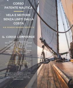 CORSO PATENTE NAUTICA 2019/2020: APERTE LE ISCRIZIONI!