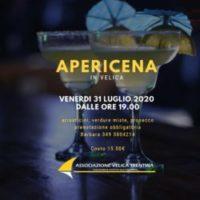 VENERDI' 31 LUGLIO – APERICENA IN VELICA: BELLO ESSERCI!!!!!!!!!!!!!!