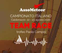 ANCORA SUL TEAM RACE METEOR 2020 DI CALDONAZZO