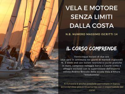 AAA – CORSO DI PATENTE NAUTICA – INIZIO 9 NOVEMBRE – TUTTO NELLA LOCANDINA!!!!!